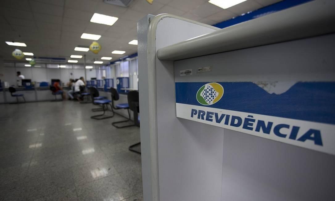 Agência do INSS: atraso na promulgação traz prejuízo. Foto: Márcia Foletto / Agência O Globo
