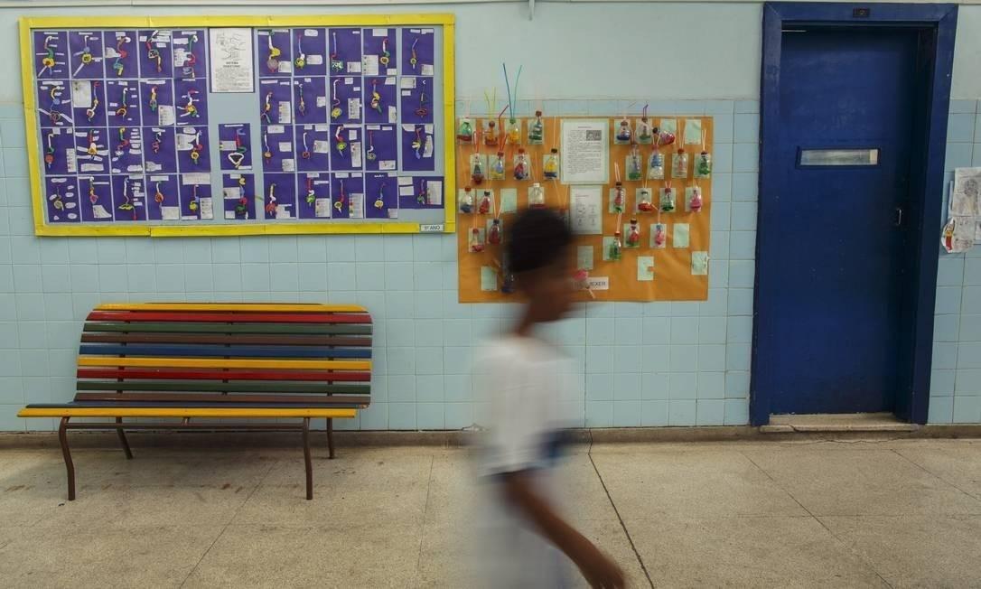Análise da educação considerou todos os municípios brasileiros e 200 países Foto: Daniel Marenco/Agência O Globo