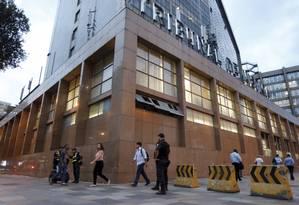 Tribunal de Justiça, no Centro Foto: Domingos Peixoto / Agência O Globo