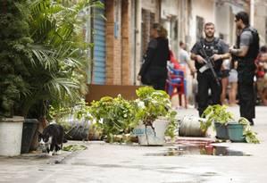 Francisco Laércio de Lima, 26 anos, foi morto com tiro na cabeça Foto: Thiago Freitas / Agência O Globo