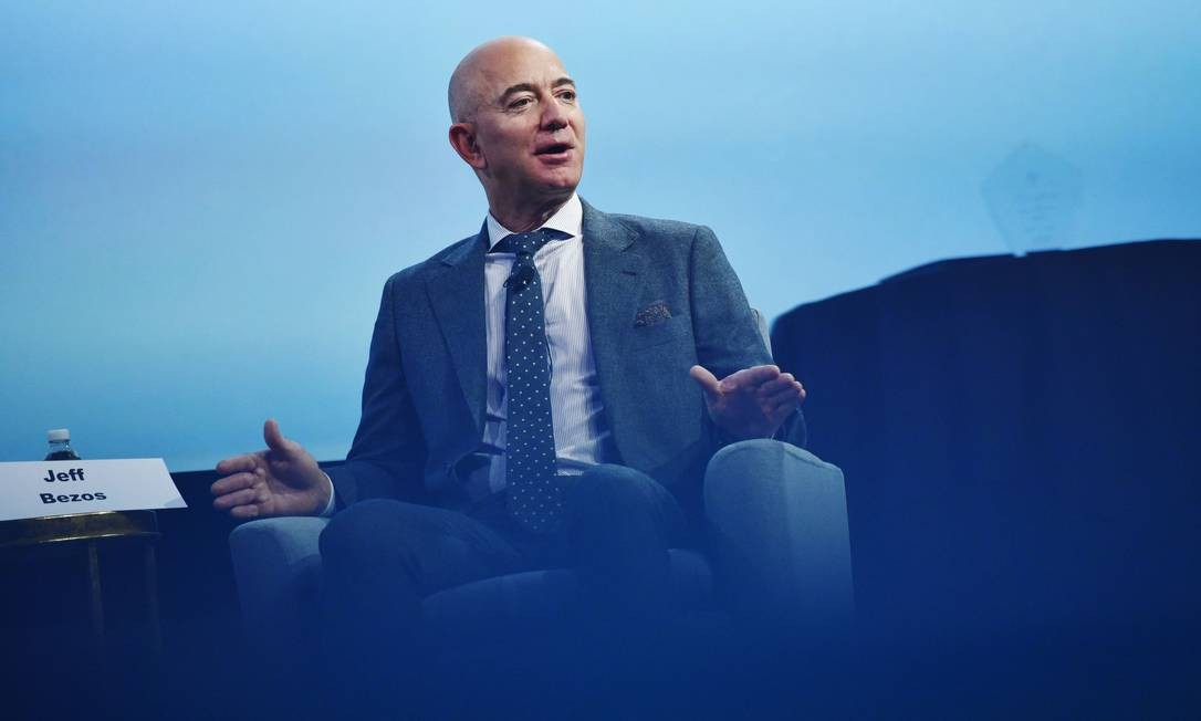 O fundador da Amazon, Jeff Bezos, é o homem mais rico do mundo Foto: MANDEL NGAN / AFP
