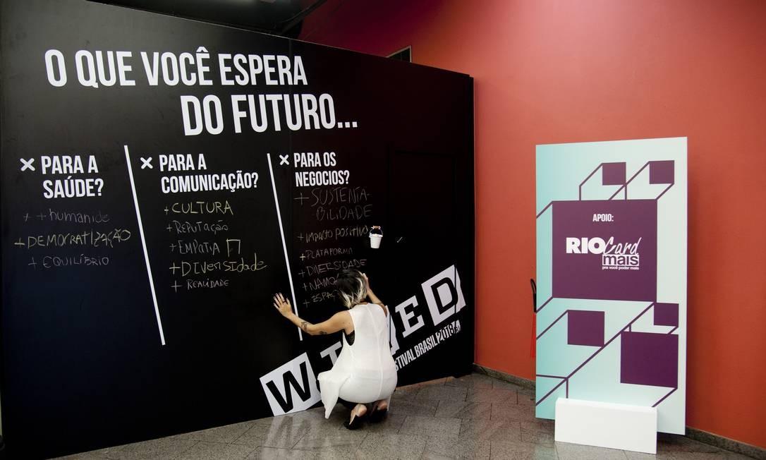 Wired Festival Brasil; foto de 30/11/2018 Foto: Adriana Lorete / Agência O Globo