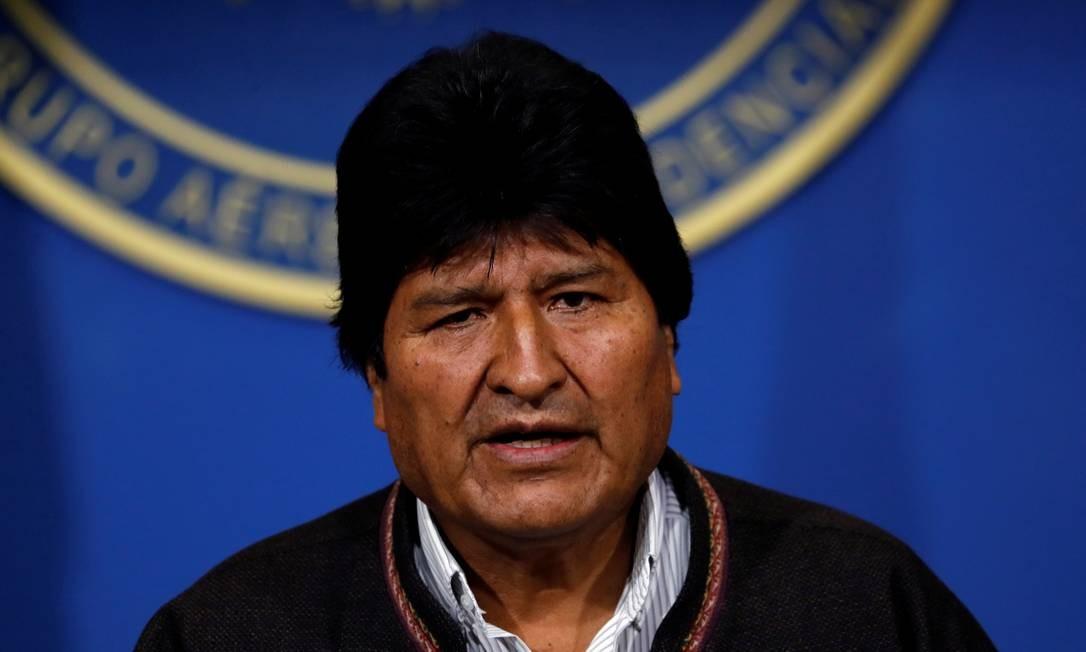 Presidente da Bolívia, Evo Morales Foto: CARLOS GARCIA RAWLINS / REUTERS