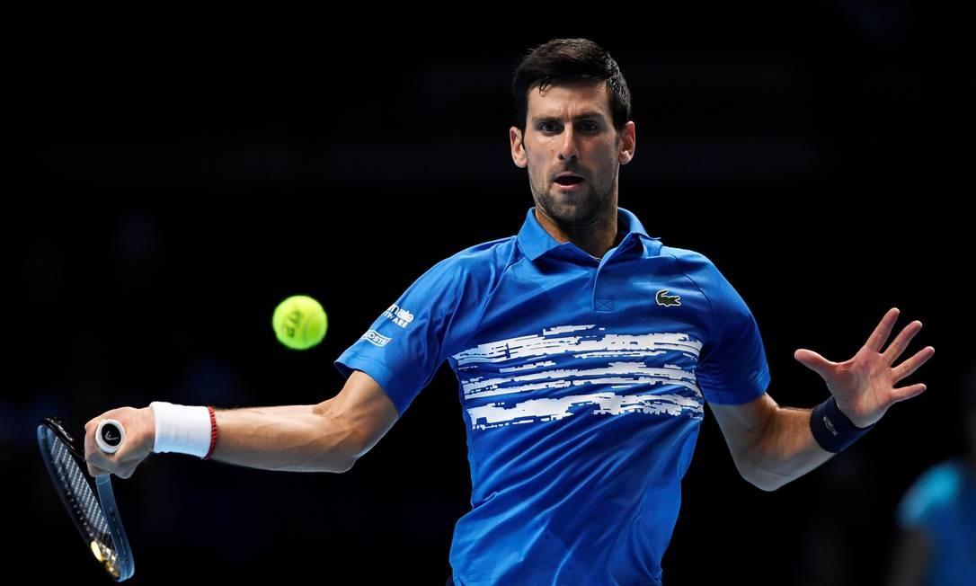 Novak Djokovic bateu o italiano Matteo Berrettini Foto: TONY O'BRIEN / Action Images via Reuters