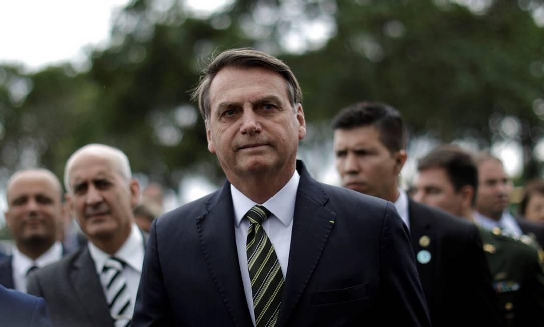 O presidente Jair Bolsonaro: programa para incentivar geração de empregos no país. Foto: UESLEI MARCELINO / REUTERS
