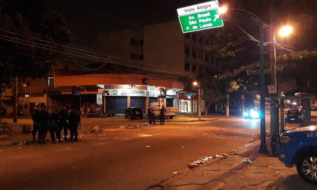Briga entre PM e flanelinhas acabou com três baleados e dois mortos Foto: reprodução