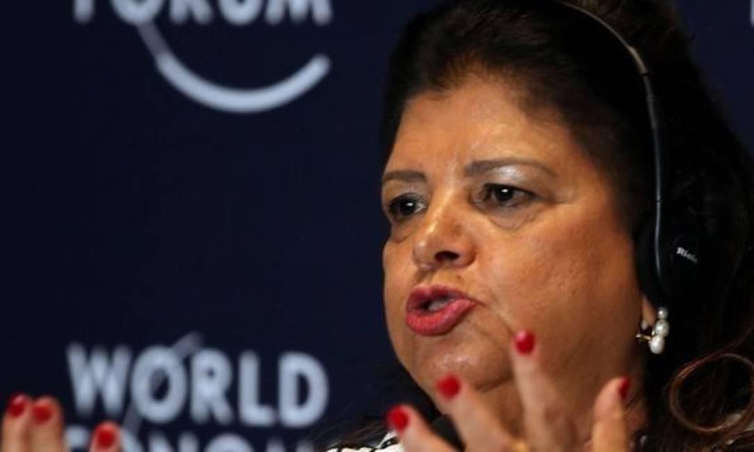 Luiza Trajano, presidente do Conselho de Administração do Magazine Luiza Foto: Reuters