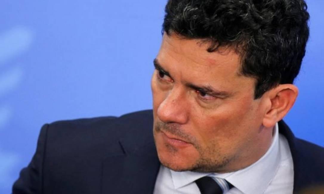 Reportagens denunciaram supostas irregularidades do atual ministro Sergio Moro quando era juiz dos casos da Lava Jato em Curitiba Foto: Reuters