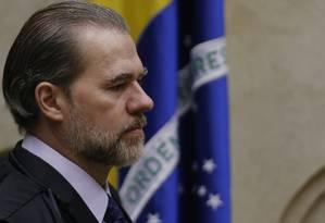 Dias Toffoli, presidente do STF Foto: Jorge William / Agência O Globo