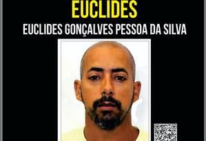 Recompensa é oferecida por informações de suspeito Foto: Divulgação/ Portal dos Procurados