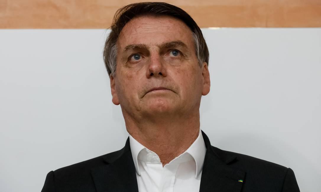 O presidente Jair Bolsonaro Foto: Isac Pereira da Nóbrega / PR/08-11-2019