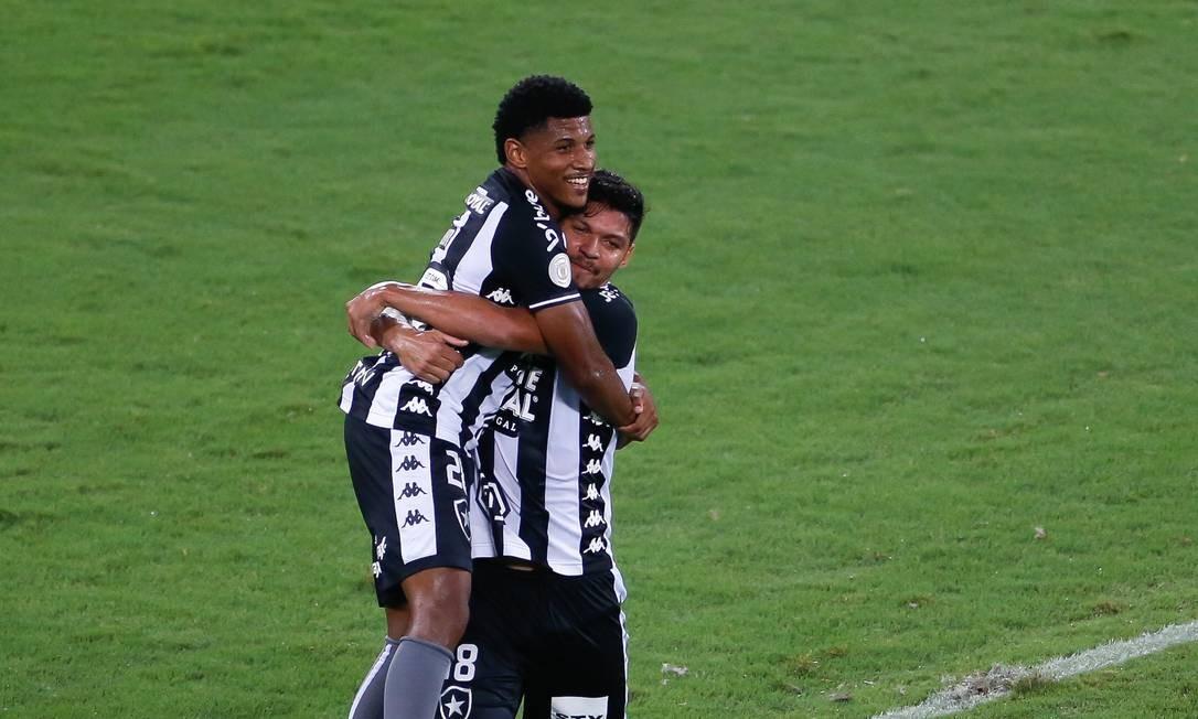 Botafogo vence o Avaí e joga o Fluminense para a zona de rebaixamento