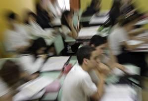 Desempenho do Brasil no Pisa se manteve estável Foto: Marcos Alves / Agência O Globo