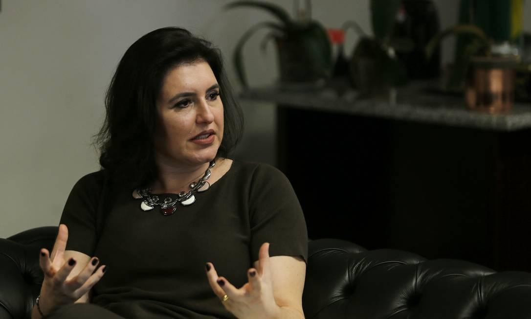 Na opinião da senadora, apenas o artigo 5º da Constituição não poderia ser modificado Foto: Jorge William / Agência O Globo