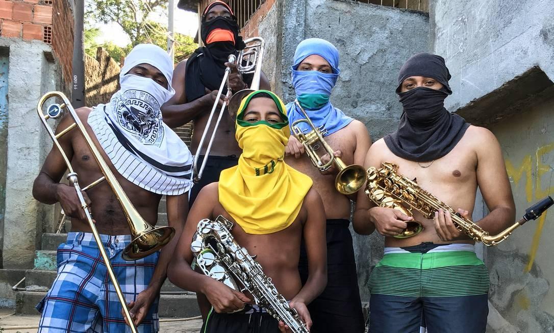 Foto de Anderson Valentim (Borel) viralizou Foto: Divulgação/Anderson Valentim