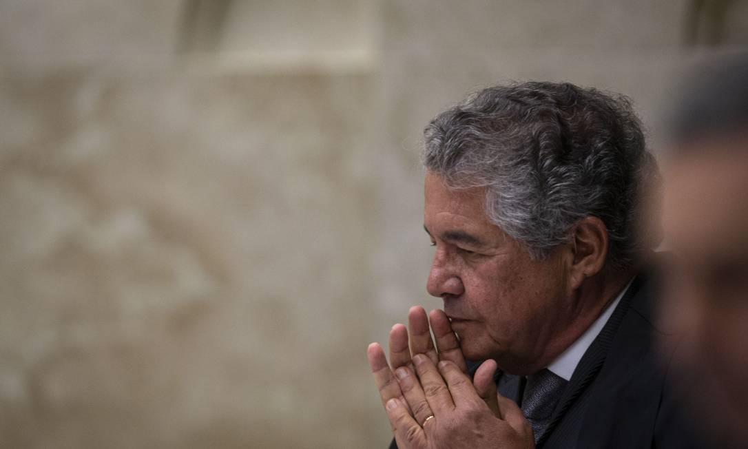 Para o ministro, uma mudança na regra seria uma tentativa de ultrapassar a decisão do Supremo Foto: Daniel Marenco / Agência O Globo