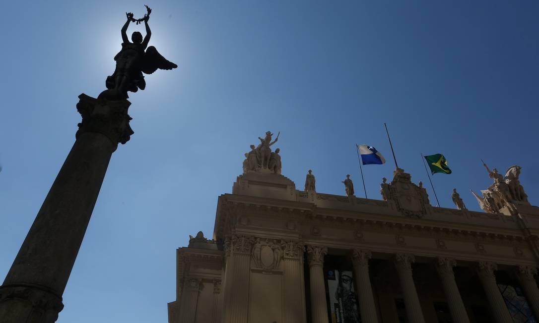 Palácio Tiradentes, sede da Assembleia Legislativa do Rio Foto: Custódio Coimbra / Agência O Globo