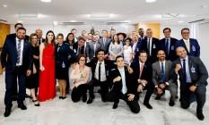 Em reunião com deputados, Bolsonaro anuncia que vai deixar PSL e criar o partido 'Aliança Pelo Brasil' Foto: Carolina Antunes/ Divulgação