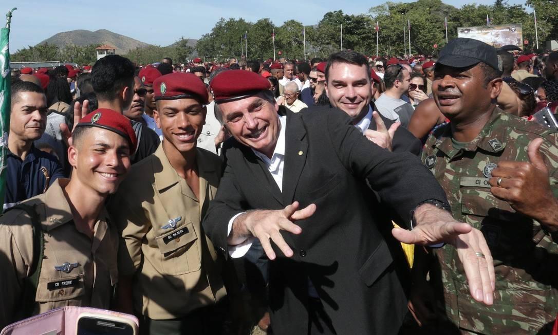 Jair Bolsonaro Foto: Agência O Globo