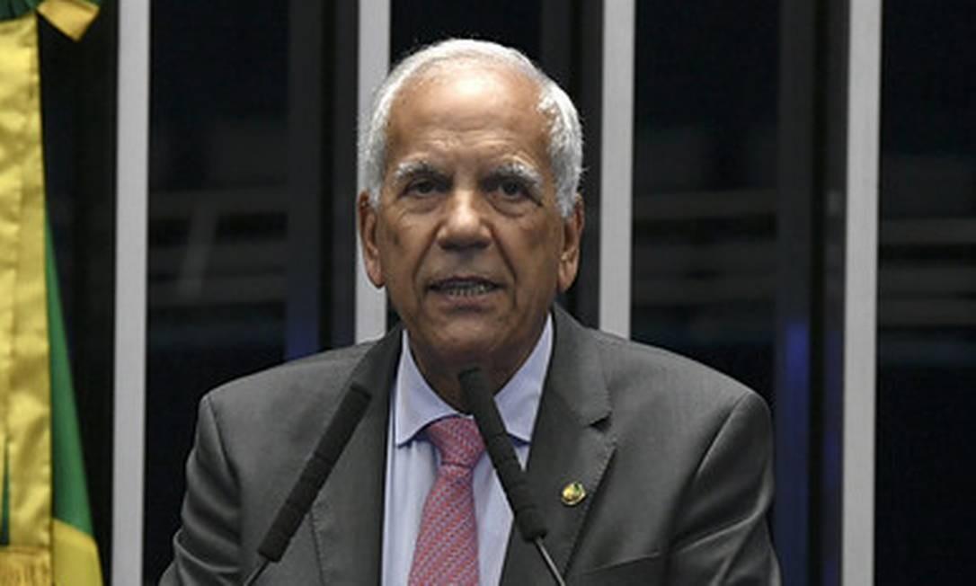 Senador Oriovisto Guimarães (Podemos-PR), relator da PEC Emergencial Foto: Jefferson Rudy / Jefferson Rudy/Agência Senado