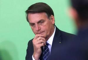 O presidente Jair Bolsonaro 12/11/2019 Foto: ADRIANO MACHADO / REUTERS