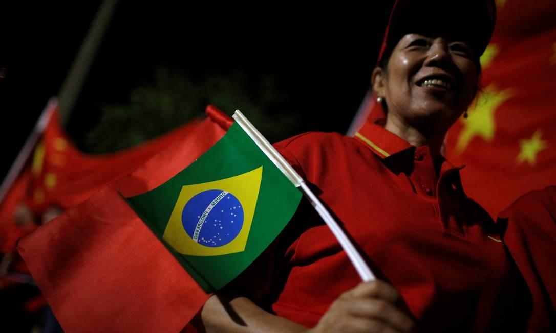 Brasil está negociando a criação de uma área de livre comércio com a China: anunciou Guedes em encontro de Brics em Brasília Foto: ADRIANO MACHADO/REUTERS/12-11-2019
