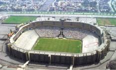 Estadio Monumental, em Lima, no Peru Foto: Reprodução/Instagram