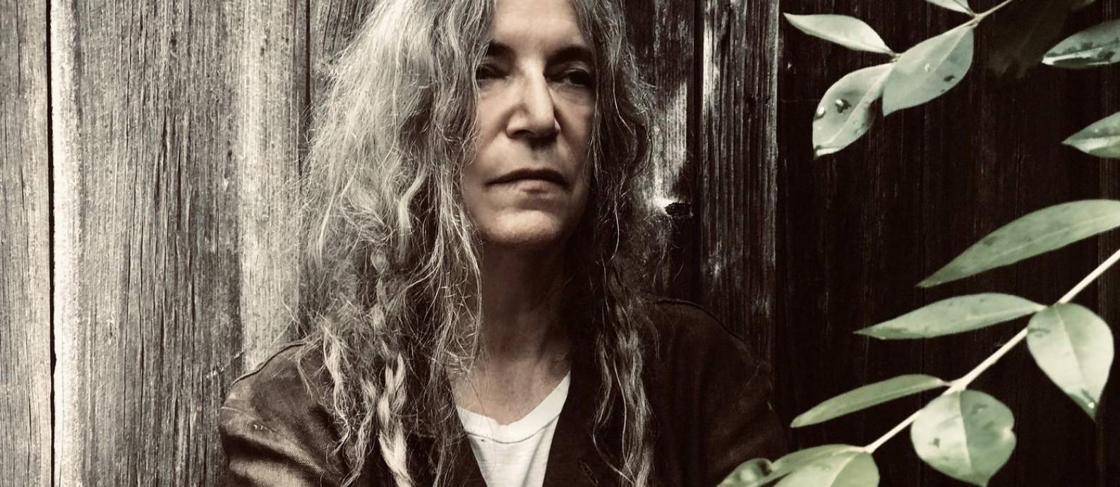 A cantora, compositora e escritora americana Patti Smith Foto: Steven Sebring / Divulgação