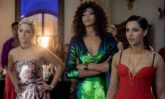 "Kristen Stewart, Naomi Scott e Ella Balinska são ""As panteras"" Foto: Divulgação"