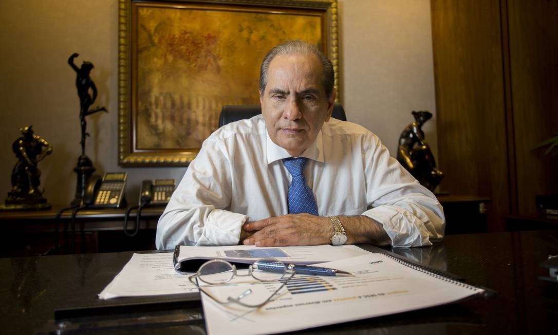 José Roberto Tadros, presidente da CNC Foto: Edvaldo Reis / Divulgação/CNC