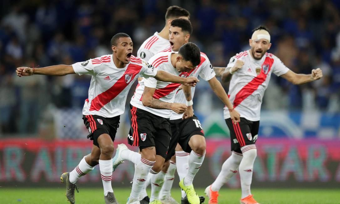 River Plate tem último desafio doméstico antes da final da Libertadores Foto: UESLEI MARCELINO / Reuters