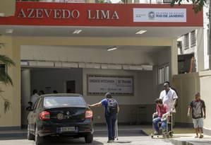 Referência na especialidade, HEAL inaugurou nova unidade para atendimento de vítimas de acidentes traumáticos há um mês Foto: Gabriel de Paiva / Agência O Globo