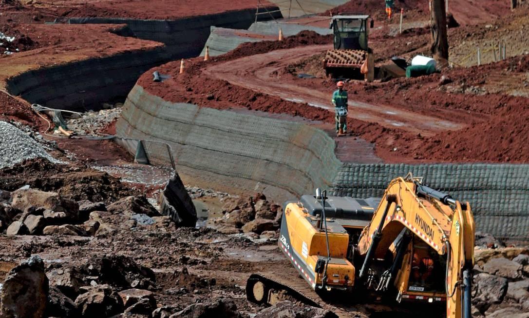 Economia de Brumadinho mudou após o rompimento da barragem Foto: Marcelo Theobald / Agência O Globo