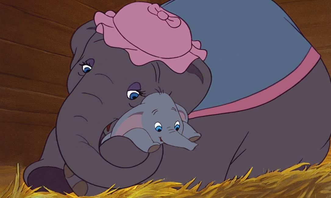 Cena do filme 'Dumbo', de 1941 Foto: Reprodução