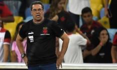 Vasco de Luxemburgo empatou em 4 a 4 com o Flamengo Foto: MAURO PIMENTEL / AFP