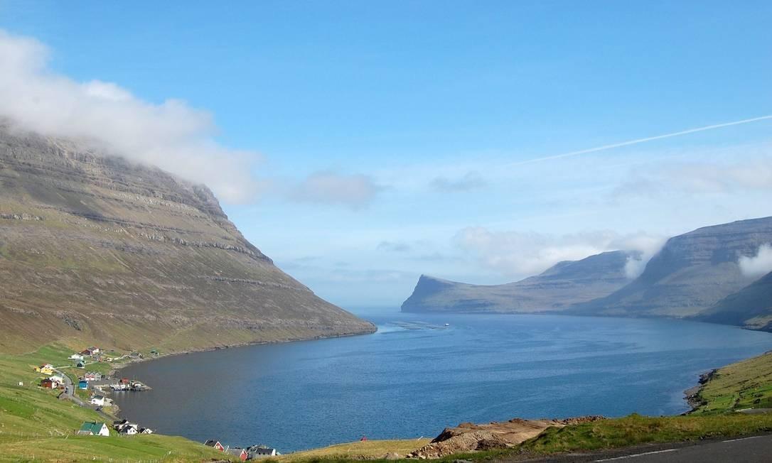 Fechadas para manutenção. É assim que as Ilhas Faroé vão estar no fim de semana dos dias 16 a 17 de abril de 2020 Foto: PIERRE-HENRY DESHAYES / AFP