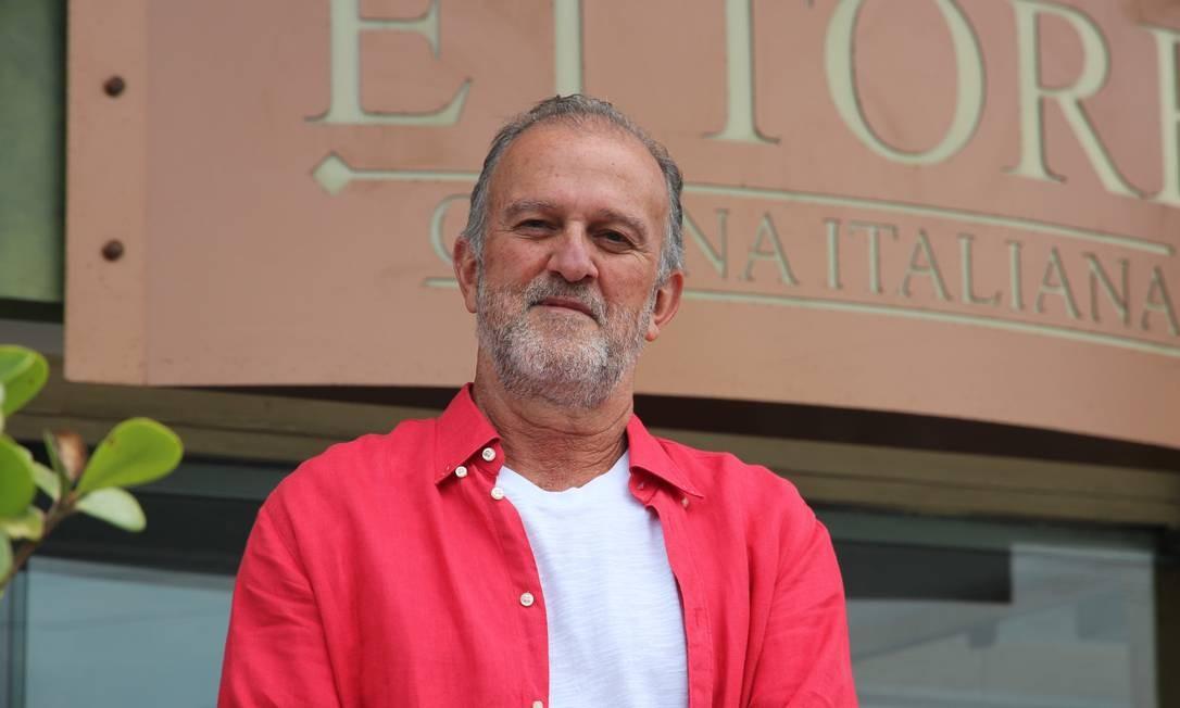 Ettore Siniscalchi , dono do restaurante Ettore - Cucina Italiana, no Condado de Cascais Foto: Hugo Losso / Divulgação