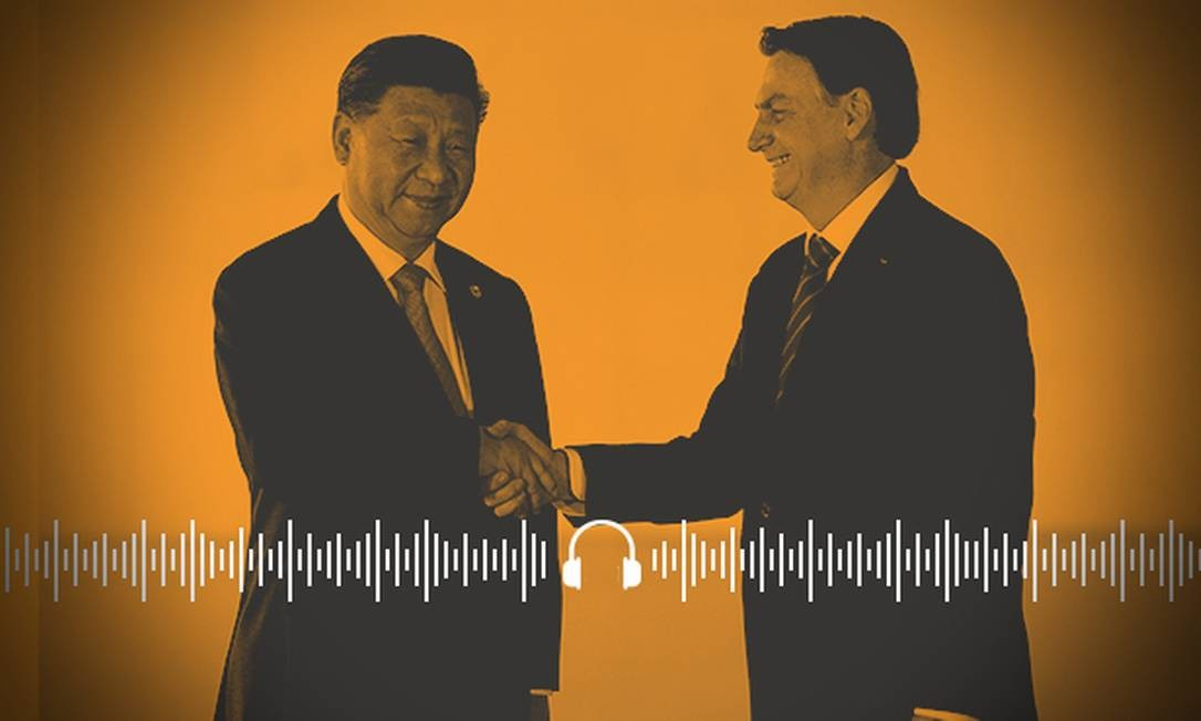 Brasil reforça laços com a China durante a reunião do Brics, em Brasília Foto: Arte