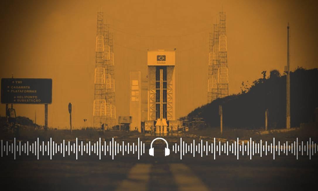 Brasil entra em nova etapa do programa espacial após acordo com os EUA Foto: Arte