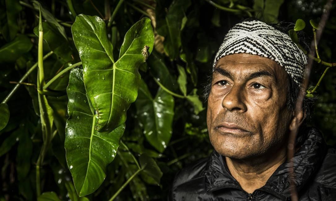 SOC Rio de Janeiro, RJ 11/11/2019 Entrevista com o líder indígena Ailton Krenak. Foto Guito Moreto / Agência O Globo Foto: Guito Moreto / Agência O Globo