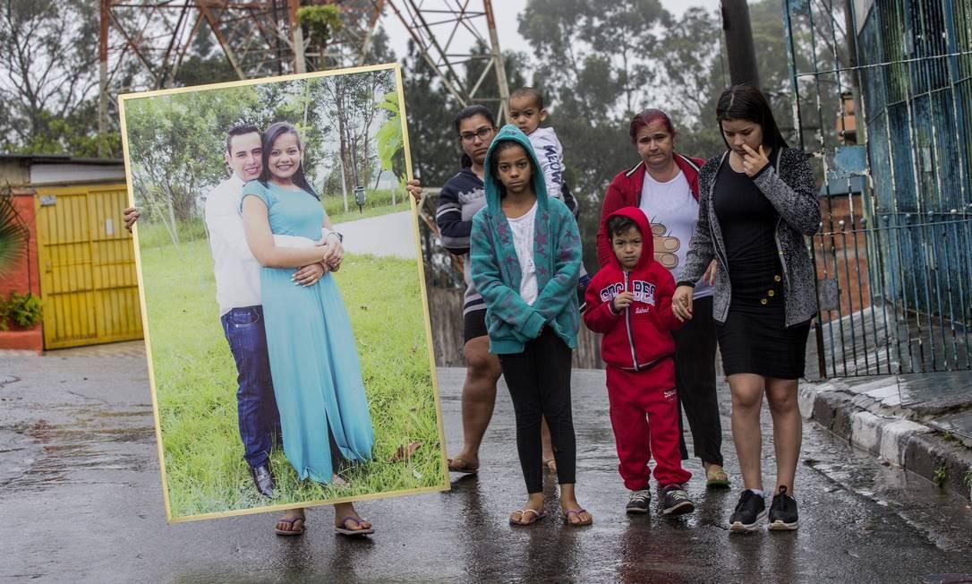 Família de Sidney Sylvestre: perplexidade após prisão sem provas Foto: Marlene Bergamo / Folhapress (05/07/19)
