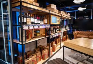 A Wine, que nasceu como um clube de assinatura, abriu sua primeira loja física, em Belo Horizonte Foto: Agência O Globo