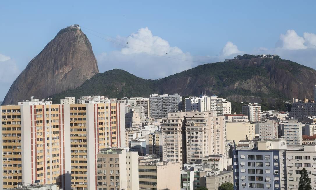Fachadas de prédios da Zona Sul do Rio Foto: Marcos Ramos / Agência O Globo