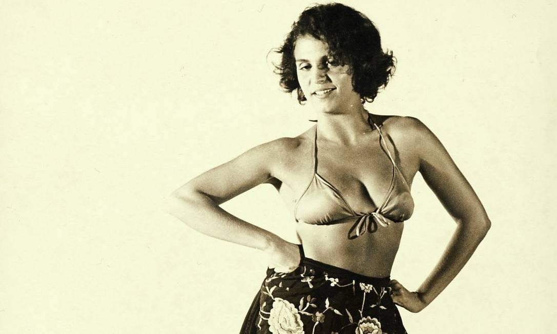 Leila pelas lentes do amigo jornalista Carlos Lonam em 1971 Foto: Carlos Leonam /