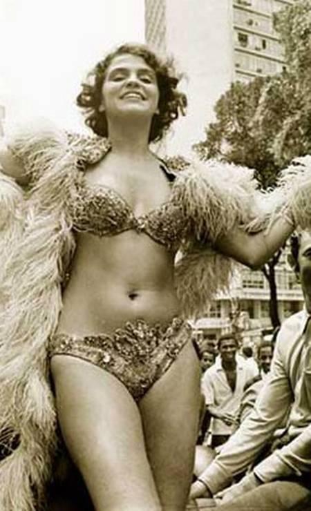 Leila Diniz em 1971, quando tinha 26 anos Foto: