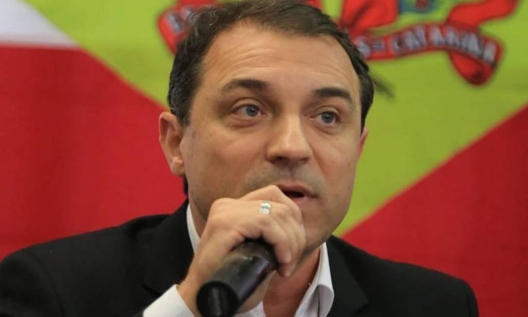 Carlos Moisés, governador de Santa Catarina Foto: Reprodução