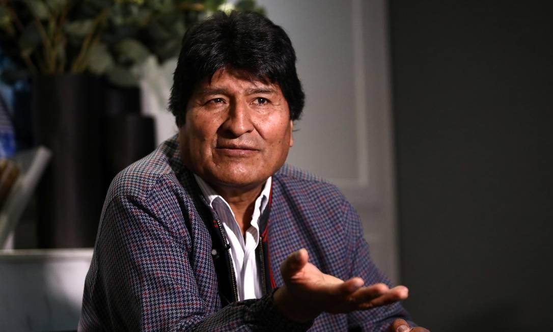 Após renunciar o cargo de presidente, Evo Morales foi para o México. Foto: EDGARD GARRIDO / REUTERS