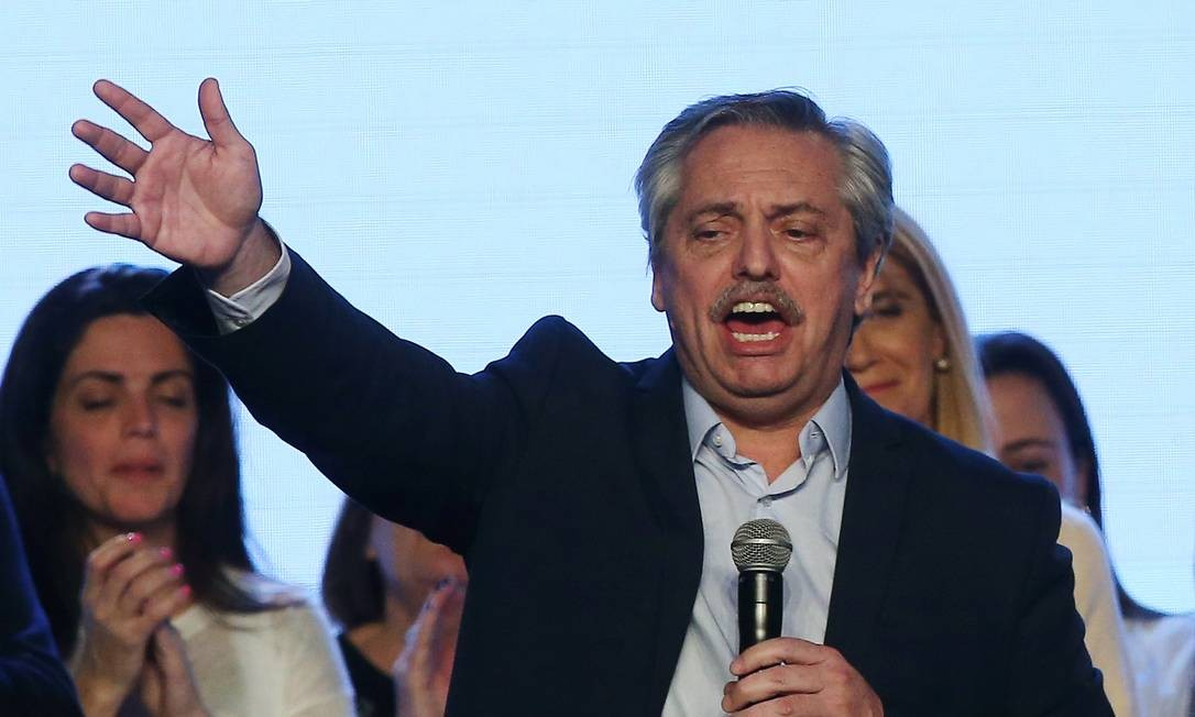 Presidente eleito Alberto Fernández tomará posse no próximo dia 10 de dezembro. Foto: Agustin Marcarian / Reuters
