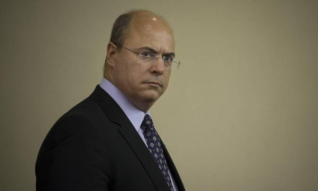 O governador do Rio, Wilson Witzel (Arquivo) Foto: Márcia Foletto / Agência O Globo