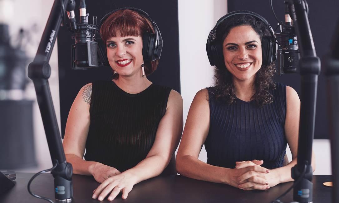 """As publicitárias Juliana Wallauer e Cris Bartis, criadoras do """"Mamilos"""" Foto: Agê Barros"""